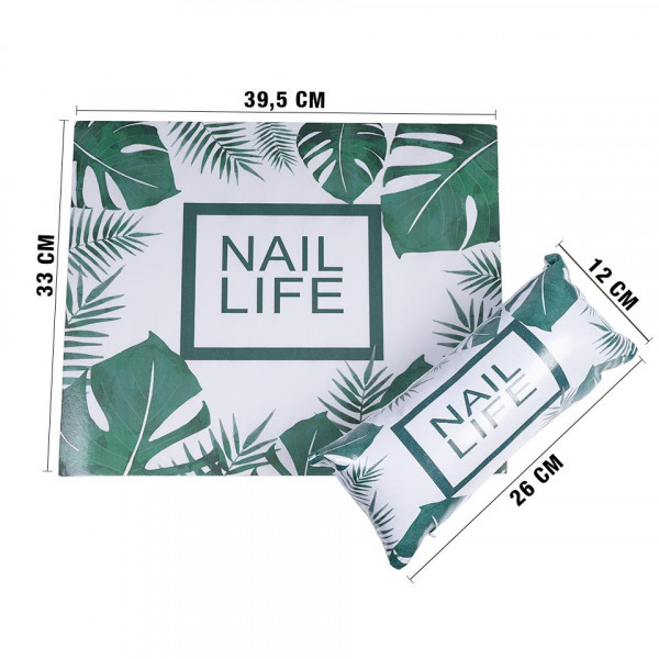 Poze Suport Mana Manichiura Express Nails, Tropical Style