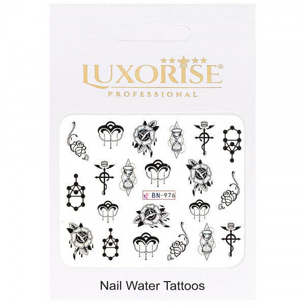 Poze Tatuaj unghii LUXORISE, Fantasy BN-976