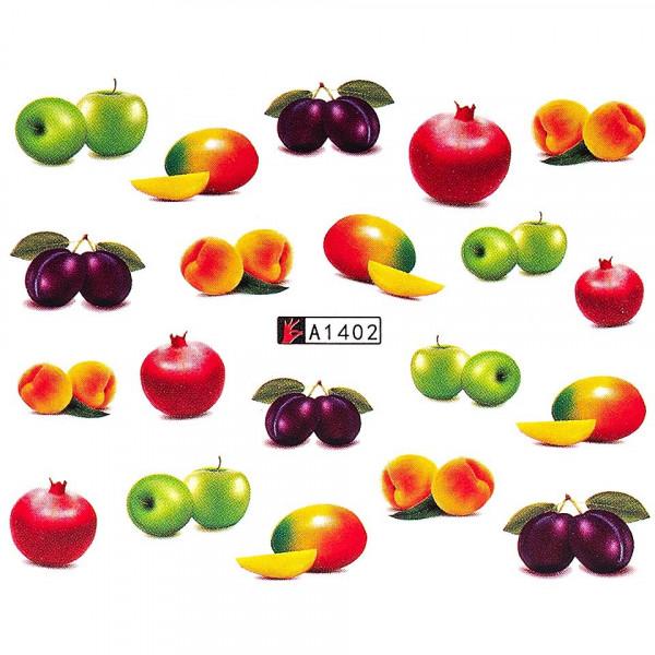 Poze Tatuaj unghii LUXORISE, Fruits A1402