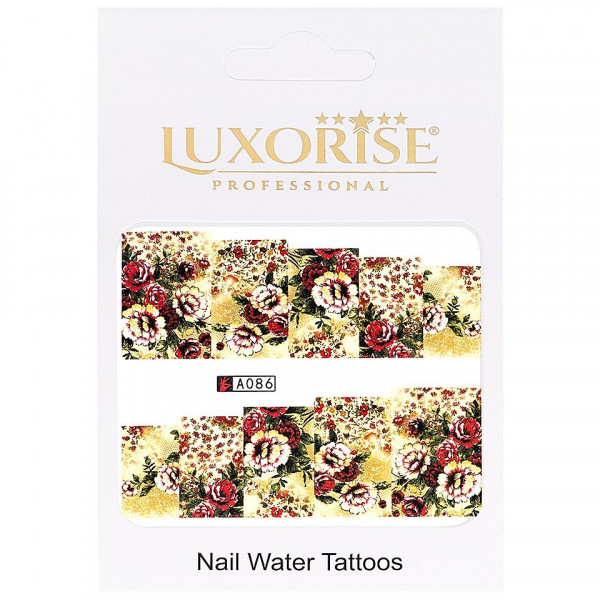 Poze Tatuaj unghii LUXORISE, Nature A086