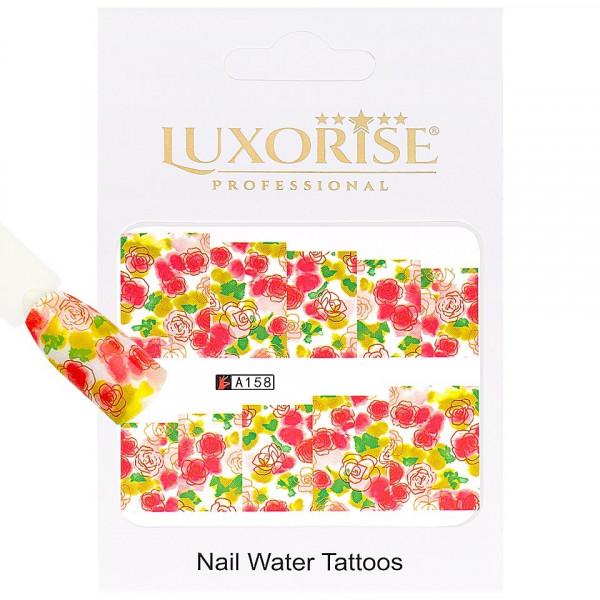Poze Tatuaj unghii LUXORISE, Nature A158