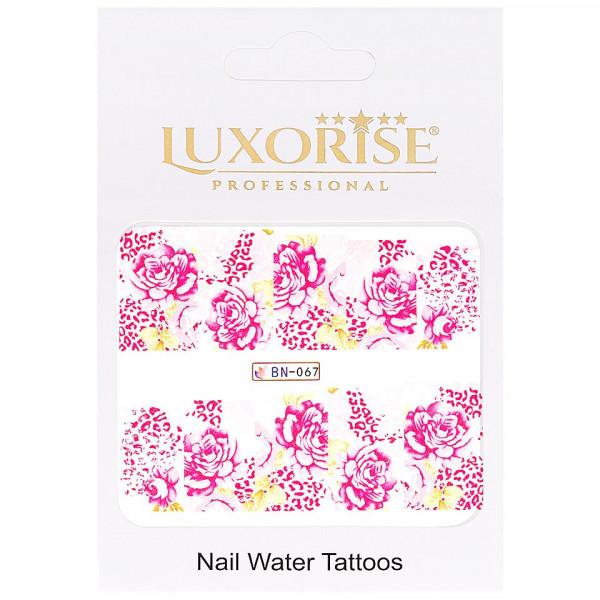 Poze Tatuaj unghii LUXORISE, Nature BN-067