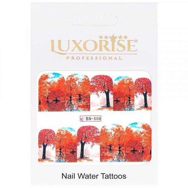 Poze Tatuaj unghii LUXORISE, Nature BN-508