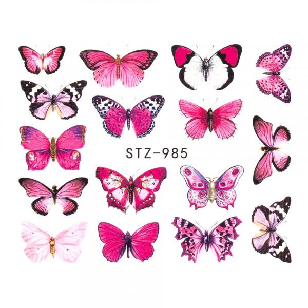 Poze Tatuaj unghii SensoPRO Summer Challenge, model STZ-985