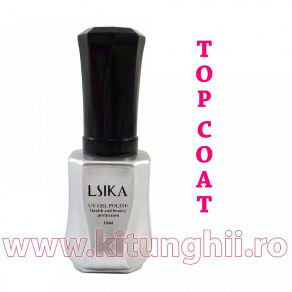 Poze Top Coat Oja Permanenta Lsika 15ml