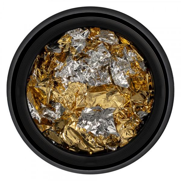 Poze Foita Unghii LUXORISE - Unique Gold & Silver #03