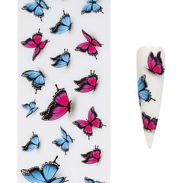 Poze Folie de Transfer Unghii LUXORISE #412 Butterfly