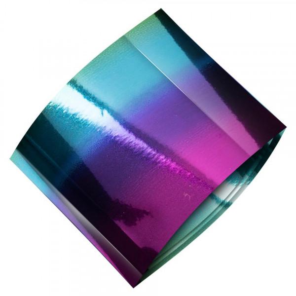 Poze Folie de Transfer Unghii LUXORISE #487 Rainbow