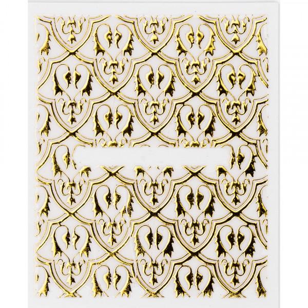 Poze Folie Sticker 3D unghii - AD310