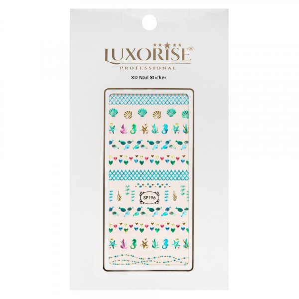 Poze Folie Sticker 3D unghii LUXORISE- SP196