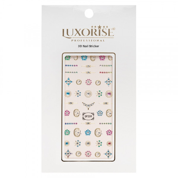 Poze Folie Sticker 3D unghii LUXORISE- SP209