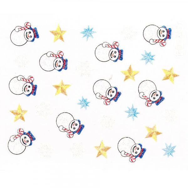 Poze Folie Sticker 3D unghii, model CR-04