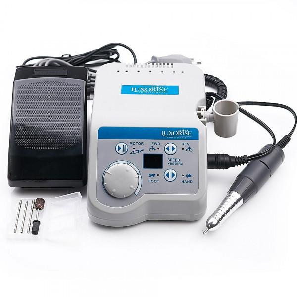 Poze Freza electrica unghii profesionala XPERT PRO - LUXORISE Germania, 35.000 RPM, Gri