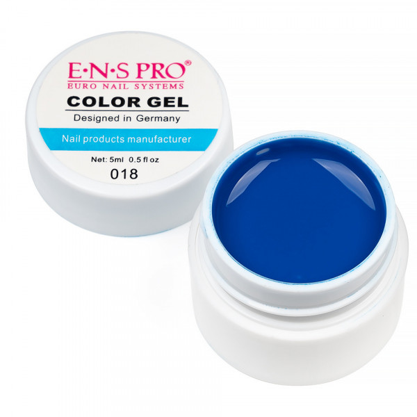 Poze Gel UV Color ENS PRO Albastru #018 - Midnight Blue