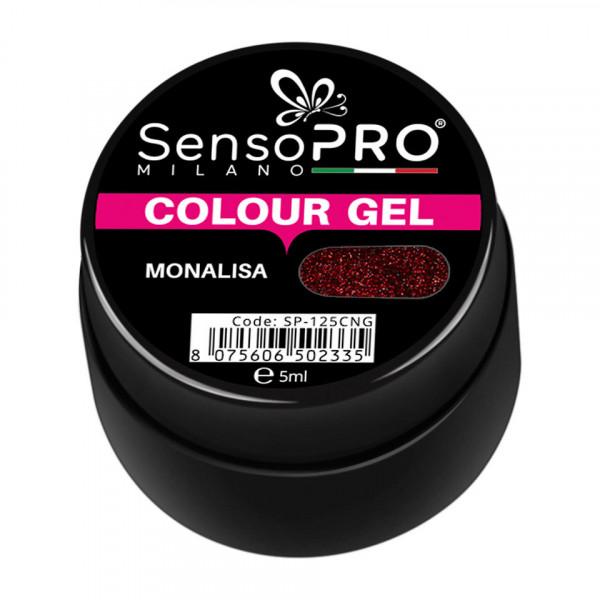 Poze Gel UV Colorat Monalisa 5ml, SensoPRO Milano