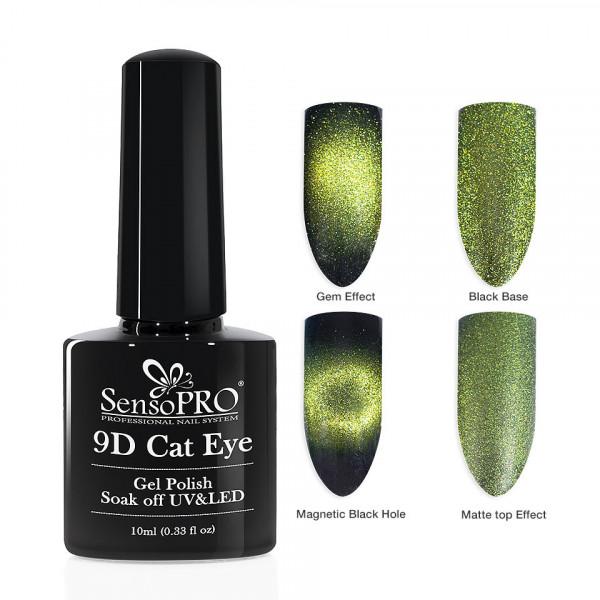 Poze Oja Semipermanenta 9D Cat Eye #04 Rigel - SensoPRO 10 ml