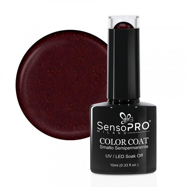 Poze Oja Semipermanenta SensoPRO 10ml culoare Visiniu - 073 Silky Burgundy