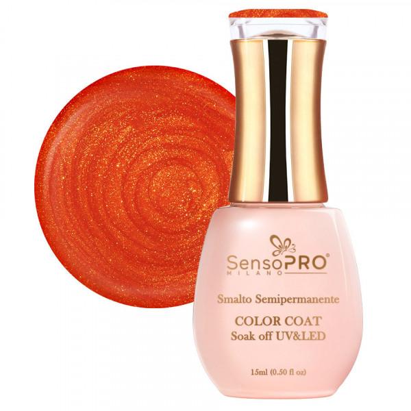 Poze Oja Semipermanenta SensoPRO 15ml culoare Portocaliu - 068 Delicious Orange