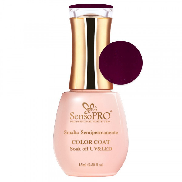 Poze Oja Semipermanenta SensoPRO 15ml culoare Visiniu - 038 Cherry Dust