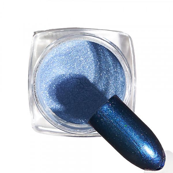Poze Pigment unghii Chrome #107 cu aplicator - LUXORISE