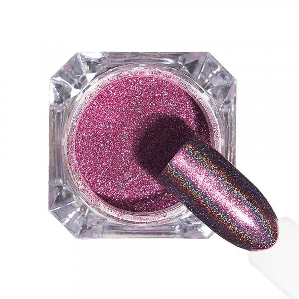 Poze Pigment unghii Holografic #152 cu aplicator - LUXORISE