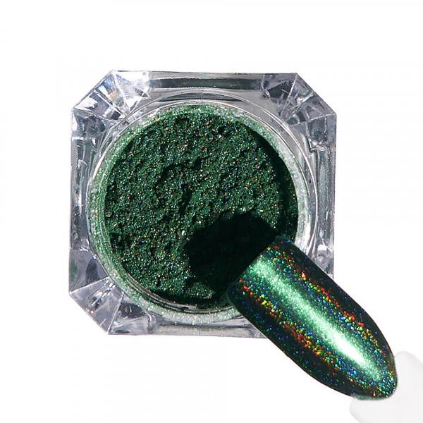 Poze Pigment unghii Holografic #74 cu aplicator - LUXORISE