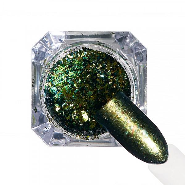 Poze Pigment unghii Ice Effect #69 cu aplicator - LUXORISE
