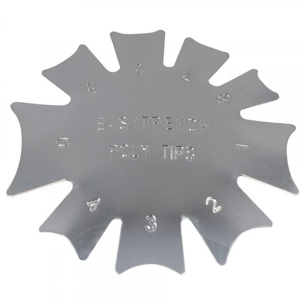 Poze Rotita Metalica pentru french cu acryl #02