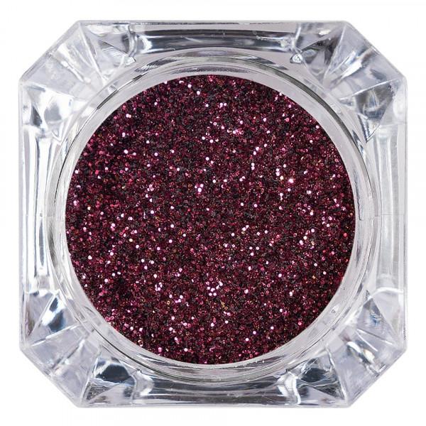 Poze Sclipici Glitter Unghii Pulbere LUXORISE, Dark Cherry #25