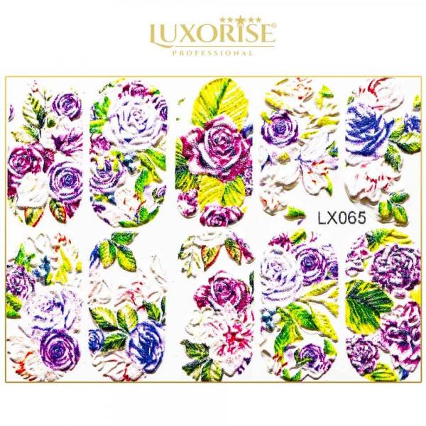 Poze Tatuaj 3D Unghii LUXORISE Artistry LX065