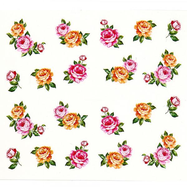 Poze Tatuaj unghii A026 flori
