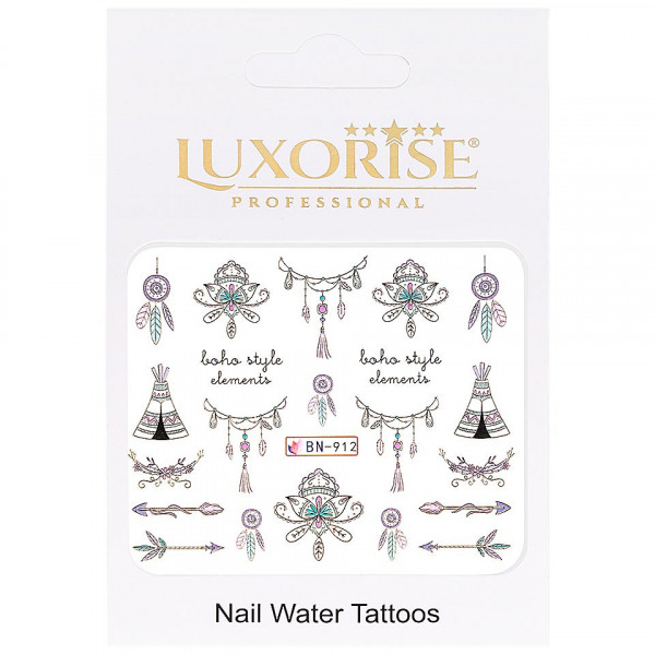 Poze Tatuaj unghii LUXORISE, Fantasy BN-912