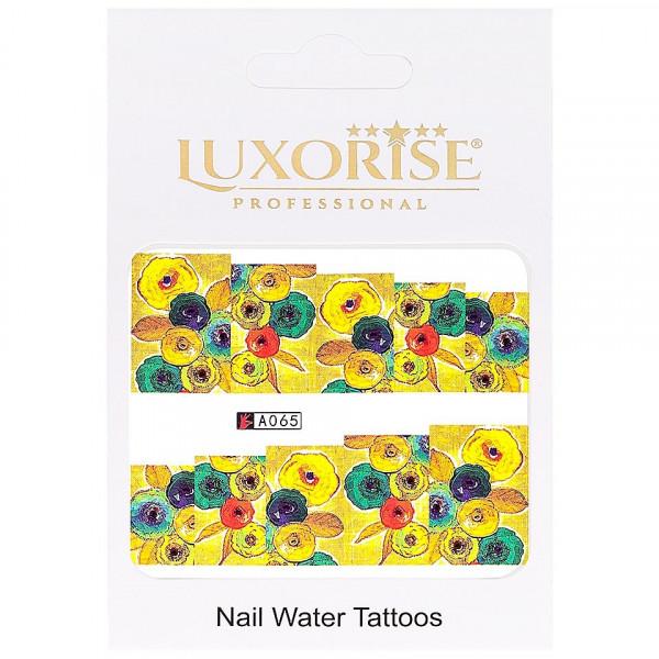 Poze Tatuaj unghii LUXORISE, Nature A065