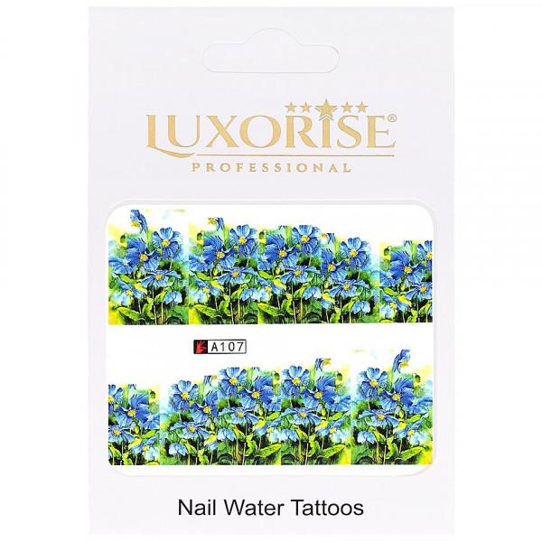 Poze Tatuaj unghii LUXORISE, Nature A107