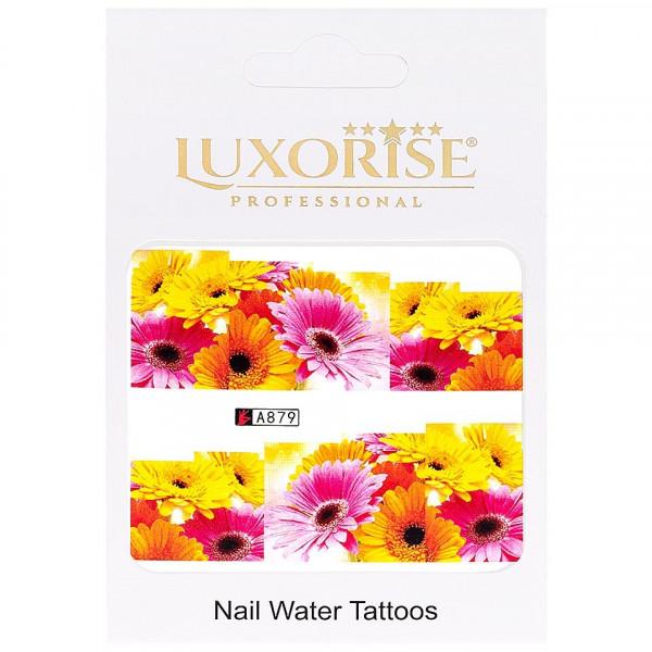Poze Tatuaj unghii LUXORISE, Nature A879