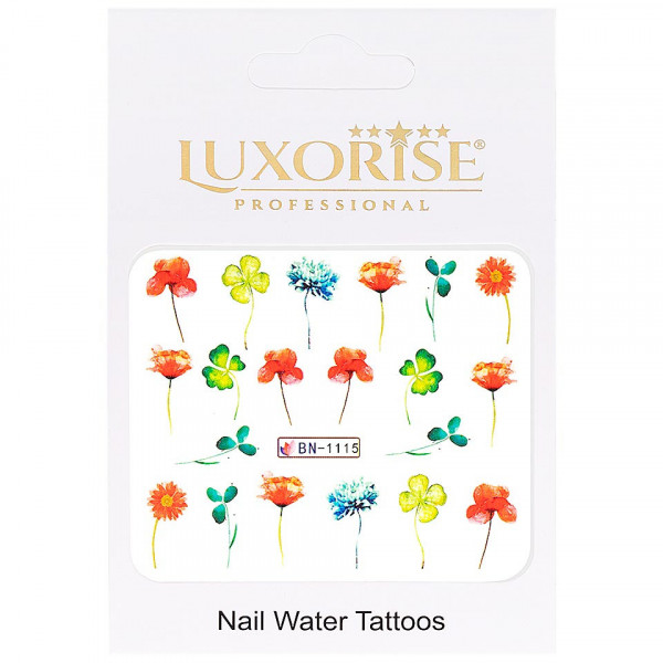 Poze Tatuaj unghii LUXORISE, Nature BN-1115