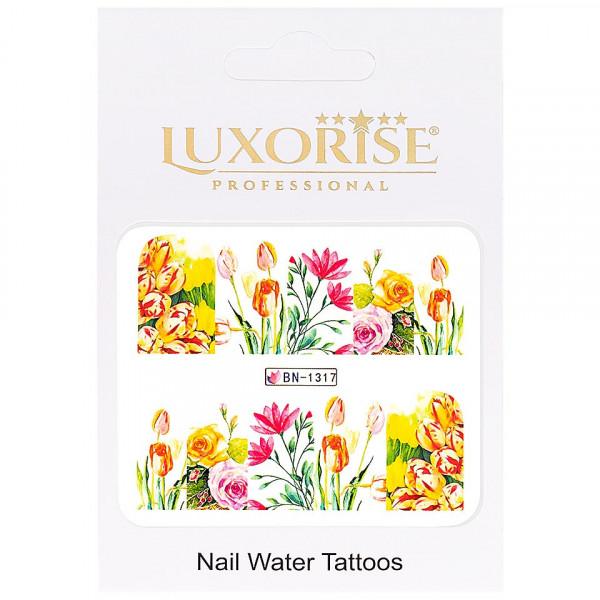 Poze Tatuaj unghii LUXORISE, Nature BN-1317