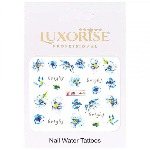 Poze Tatuaj unghii LUXORISE, Nature BN-1465