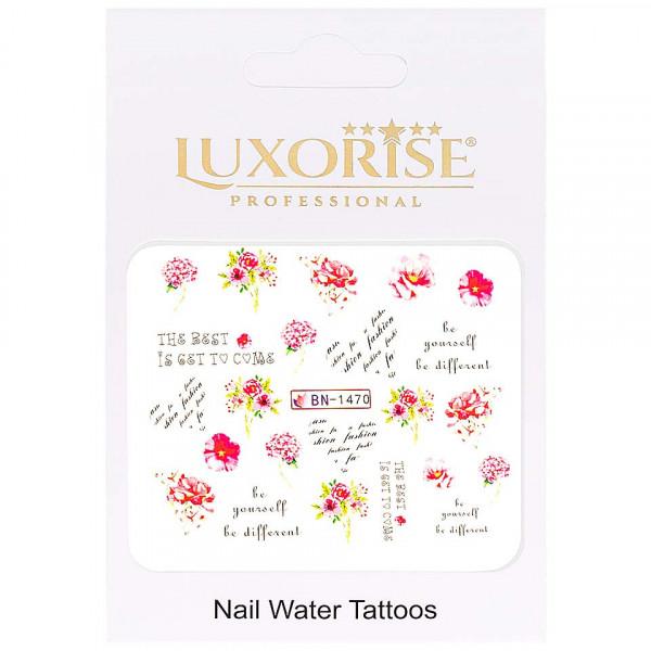 Poze Tatuaj unghii LUXORISE, Nature BN-1470