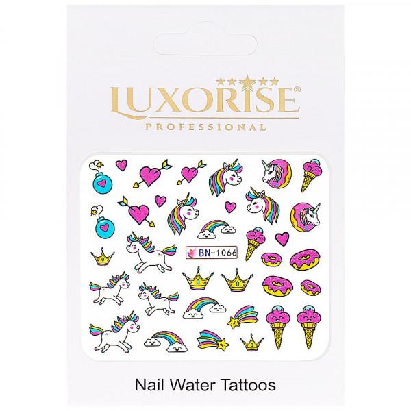 Poze Tatuaj unghii LUXORISE, Unicorn BN-1066