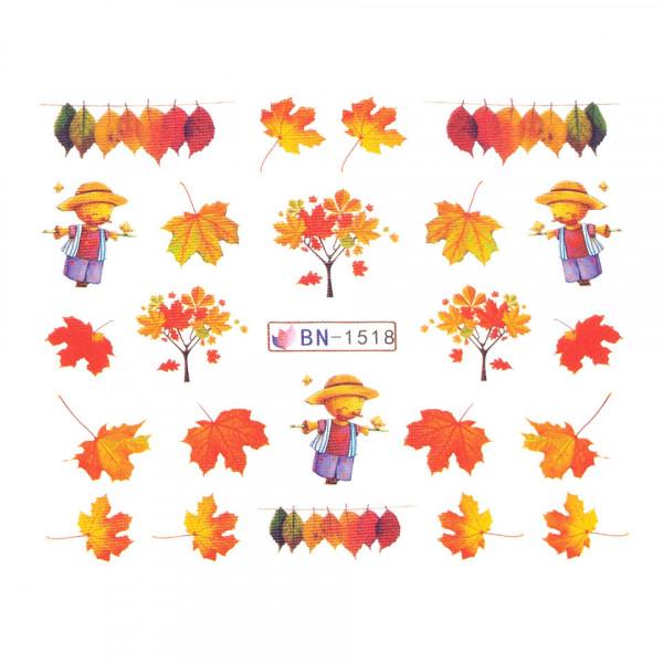 Poze Tatuaj unghii SensoPRO Autumn Challenge, model BN-1518