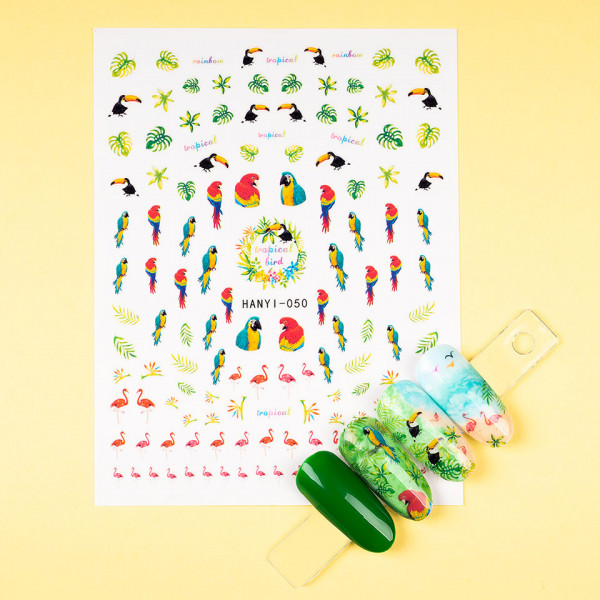 Poze Abtibilduri unghii SensoPRO Exotic Summer, model HANYI-050