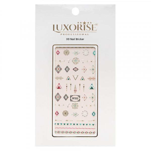 Poze Folie Sticker 3D unghii LUXORISE- SP202