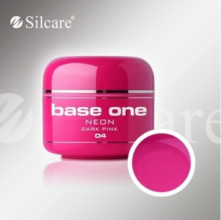 Poze Gel UV Base One Neon Dark Pink (Roz Inchis Neon) -  5 gr