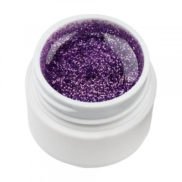 Poze Gel UV Color cu Sclipici ENS PRO #025 - Titan Violet