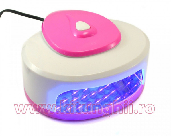 Poze Lampa cu LED Easy-Dry White & Pink