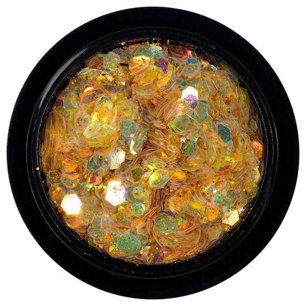Poze Paiete Holografice Unghii LUXORISE Disco Lights YJ03
