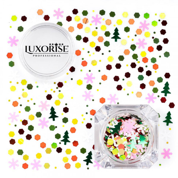 Poze Paiete Unghii LUXORISE Winter Joy #02