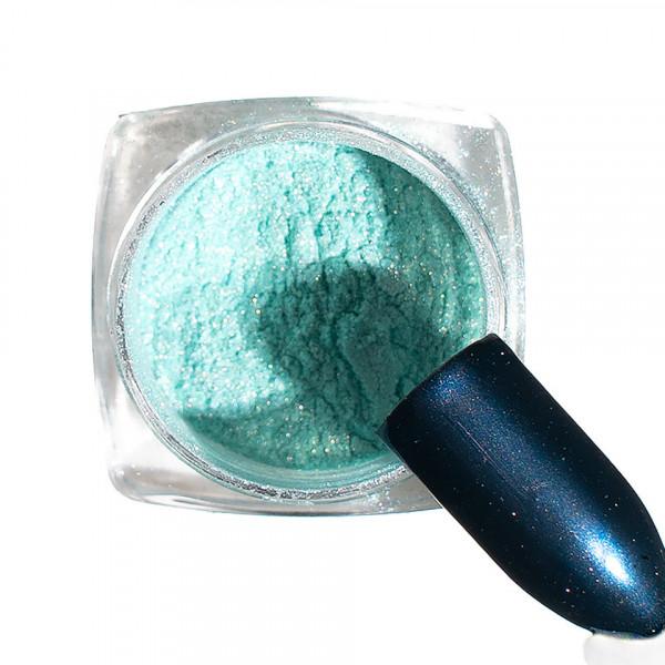 Poze Pigment unghii Chrome #108 cu aplicator - LUXORISE