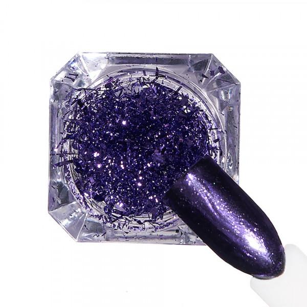 Poze Pigment unghii Ice Effect #09 cu aplicator - LUXORISE